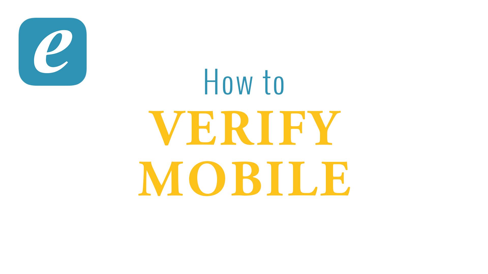 Verify Mobile